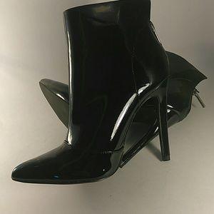 Michael Antonio Shoes - Michael Antonio joke bootie black patent 7 NIB